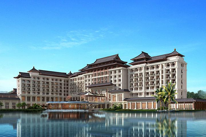 广州融创万达文华酒店-高级豪华双床房