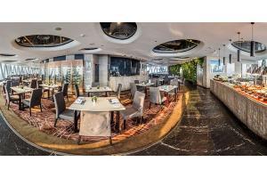吉林塔106层璇玑地中海旋转餐厅自助午餐