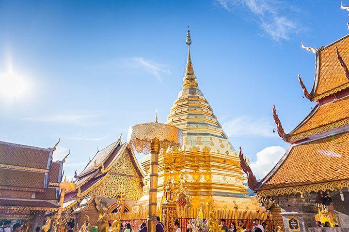 【自由行】泰国清迈5天*南航机票+4晚豪华酒店+机场往返接送*广州往返*等待确认<清迈自由行首选>