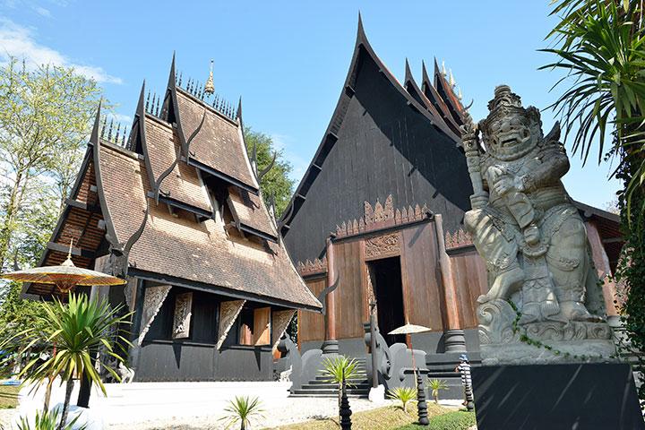 【尚·博览】泰国清迈、清莱5天*双城记<黑白庙,金三角,古庙布施,泰菜烹饪,网红美食>