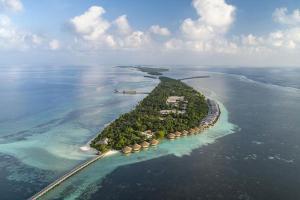 【自由行】马尔代夫(瑞喜敦DHIGURAH岛)6天*机+酒*吉林往返*等待确认<2019年6月开业、免费WiFi、内陆飞机+快艇上岛、亲子、蜜月、一价全包>