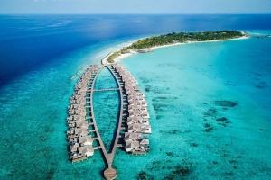 【自由行】马尔代夫(斯茹芬富士岛)7天*机票+酒店*吉林往返*等待确认<私密性好、200米泳池、内陆飞机+快艇或水上飞机上岛>