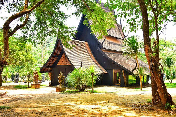 【誉·深度】泰国清迈、清莱、美塞5天*星级之旅<2晚超豪华酒店,黑、白、蓝三庙同游,丛林飞跃,泰缅边境小镇,清莱夜市>