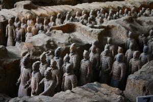 【西安当地玩乐】西安*陕西历史博物馆+兵马俑古文明1日游*赠送无线耳麦<一眼千年>*即时确认