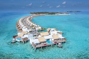 【自由行】马尔代夫(翡翠岛一价全包即时确认)6天*机+酒*吉林往返<立鼎世酒店集团、2019年8月开业、六星奢华、内陆飞机+快艇上岛或水上飞机、含早午晚餐>