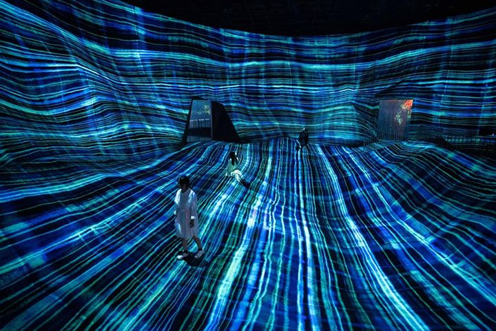澳门威尼斯人酒店teamLab超自然空间-澳门威尼斯人酒店teamLab超自然空间 团队周末节假日早场门票(5位或以上成团,早上10-12点入场)