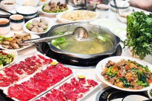 【三店通用·潮牛博牛肉火锅套餐】超值2人牛肉火锅套餐