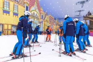 吉林融创雪世界 平日 中/高级道不限时滑雪票