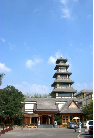 珠海御温泉渡假村-【御瀛庄】2人复式房(早餐+温泉+庙会自助晚)