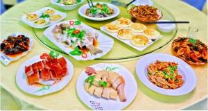 海珠区·合生广场「老吉林清平鸡深井烧鹅」99元粤菜3-4人餐L