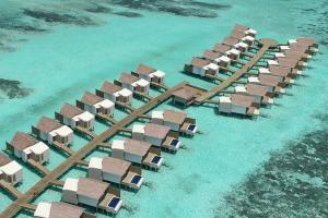【自由行】马尔代夫(硬石岛)6天*机+酒*广州往返*等待确认<设施齐全、2019年开业、免费wifi、快艇上岛>