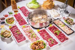 【六店通用·海银海记】178元4人牛肉火锅套餐
