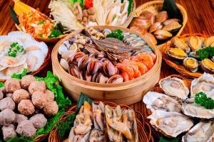 """广州希尔顿逸林酒店""""開""""全日制餐厅自助晚餐"""